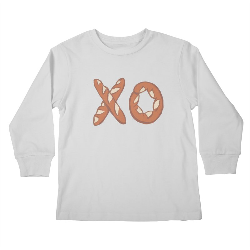 XO Kids Longsleeve T-Shirt by mattiemac's Artist Shop