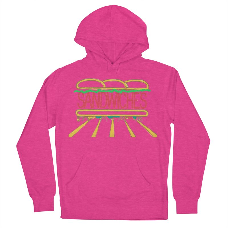 The Last Sandwich Women's French Terry Pullover Hoody by mattiemac's Artist Shop