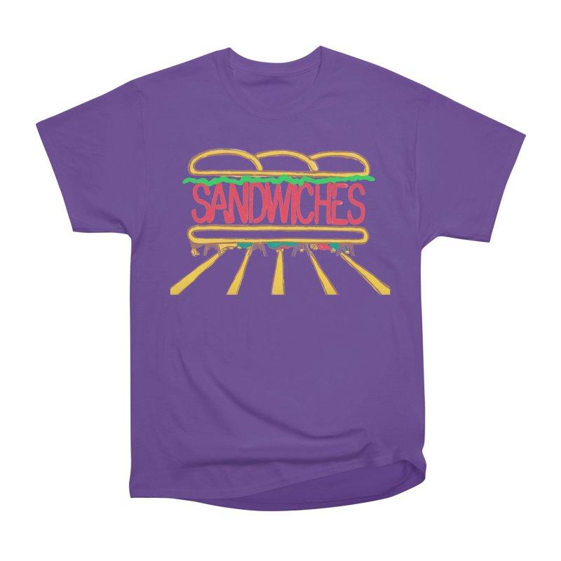 The Last Sandwich Men's Heavyweight T-Shirt by mattiemac's Artist Shop