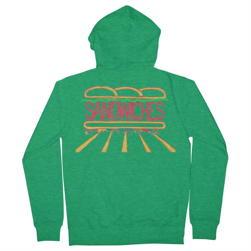 The Last Sandwich Women's Zip-Up Hoody by Matt MacFarland