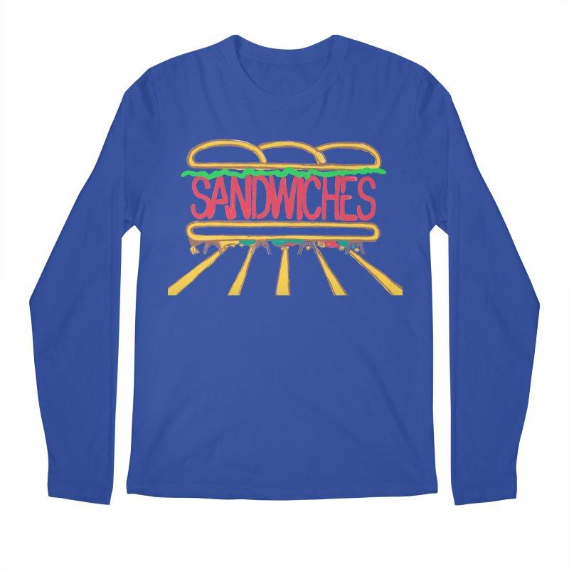 The Last Sandwich Men's Regular Longsleeve T-Shirt by Matt MacFarland