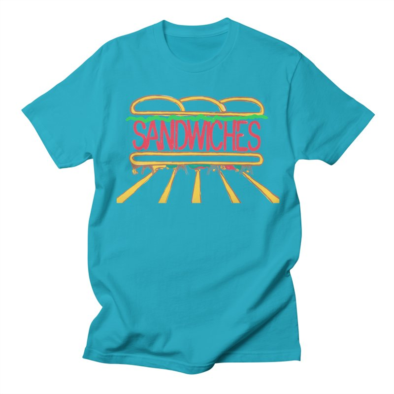 The Last Sandwich Men's Regular T-Shirt by Matt MacFarland
