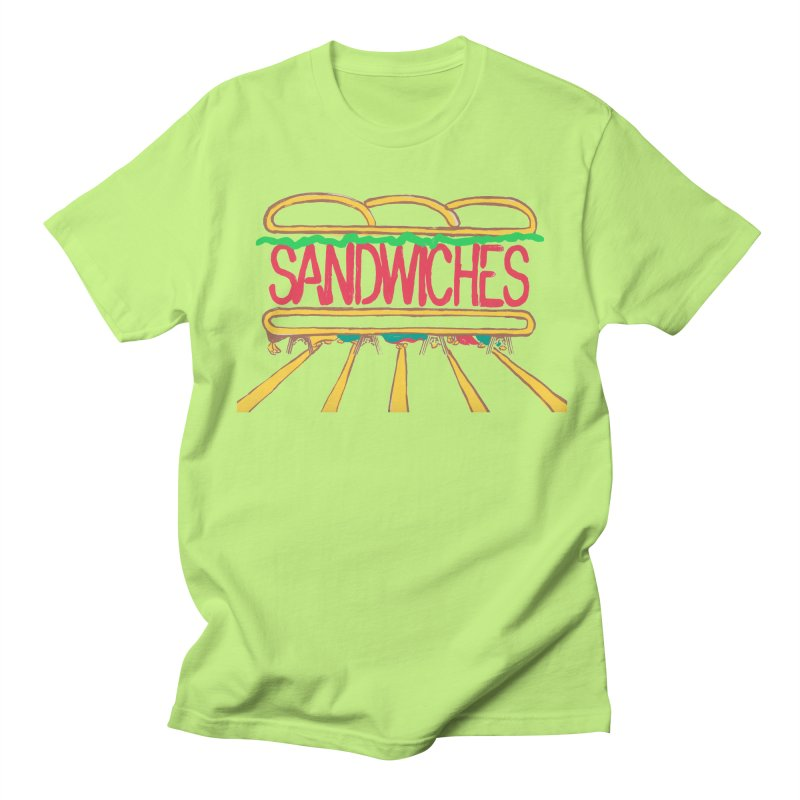 The Last Sandwich Men's Regular T-Shirt by Matt MacFarland