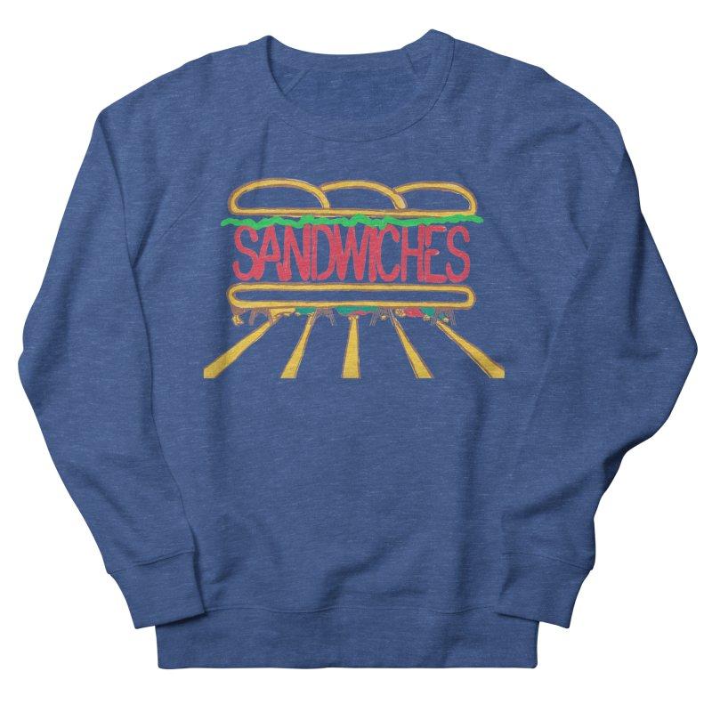 The Last Sandwich Women's French Terry Sweatshirt by mattiemac's Artist Shop
