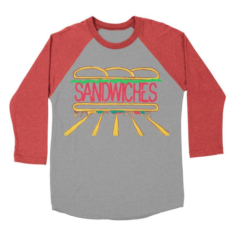 The Last Sandwich Men's Baseball Triblend Longsleeve T-Shirt by Matt MacFarland