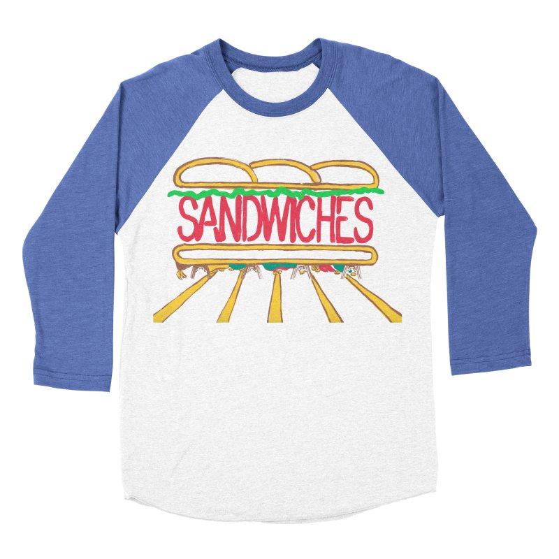 The Last Sandwich Men's Baseball Triblend Longsleeve T-Shirt by mattiemac's Artist Shop