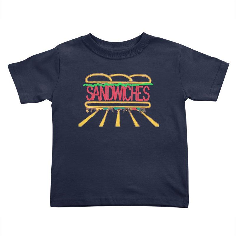 The Last Sandwich Kids Toddler T-Shirt by mattiemac's Artist Shop