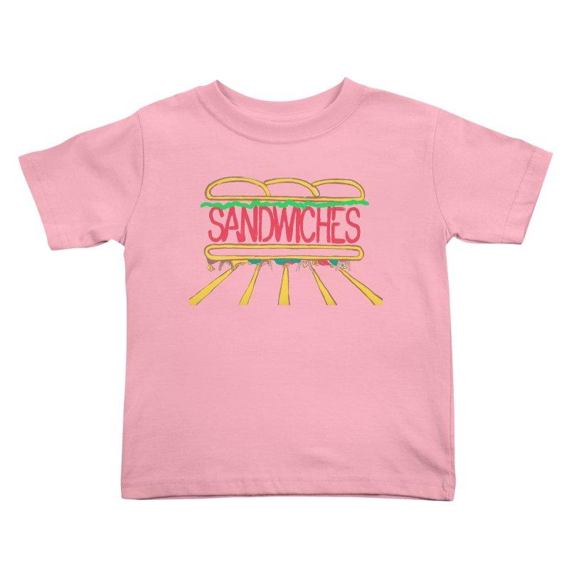 The Last Sandwich Kids Toddler T-Shirt by Matt MacFarland