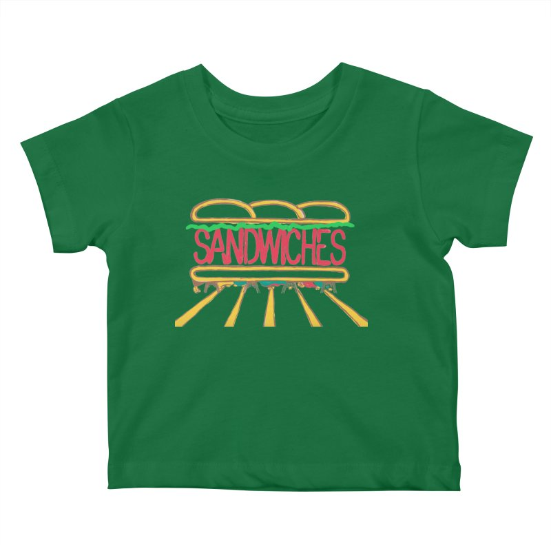 The Last Sandwich Kids Baby T-Shirt by Matt MacFarland