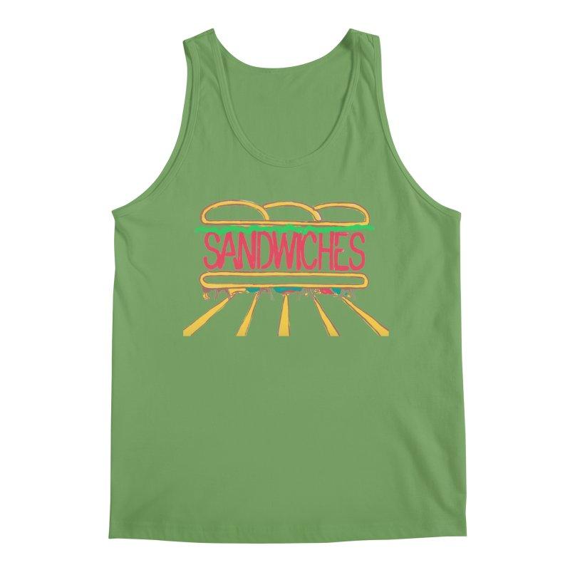 The Last Sandwich Men's Tank by Matt MacFarland