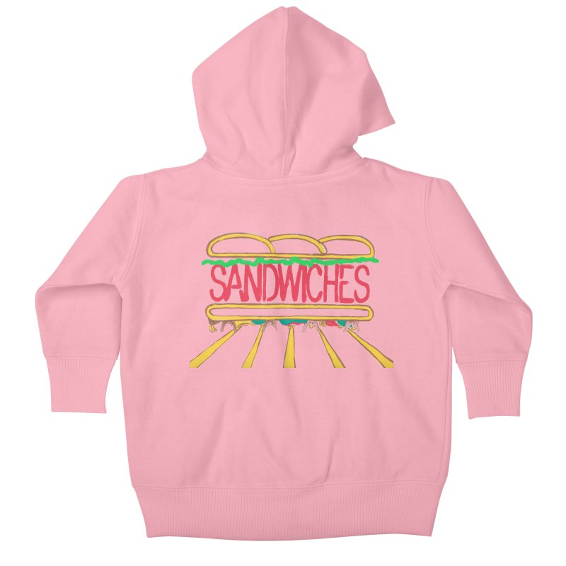 The Last Sandwich Kids Baby Zip-Up Hoody by Matt MacFarland