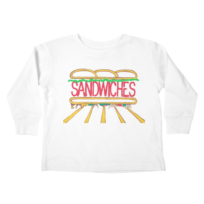 The Last Sandwich Kids Toddler Longsleeve T-Shirt by mattiemac's Artist Shop