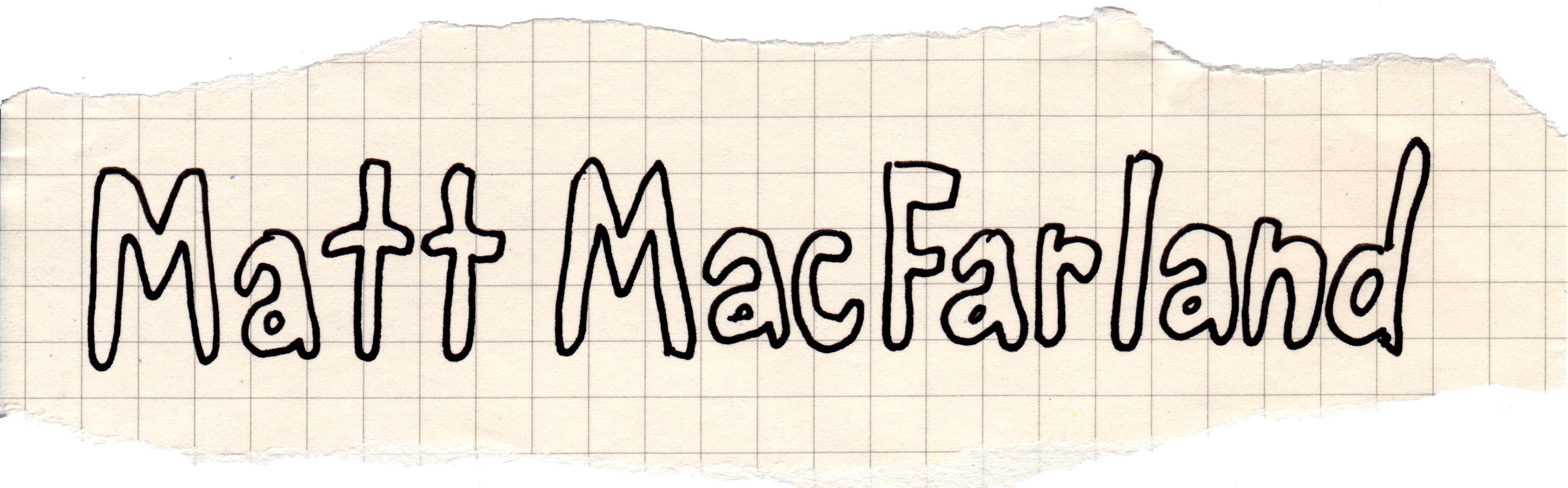 Matt MacFarland Logo