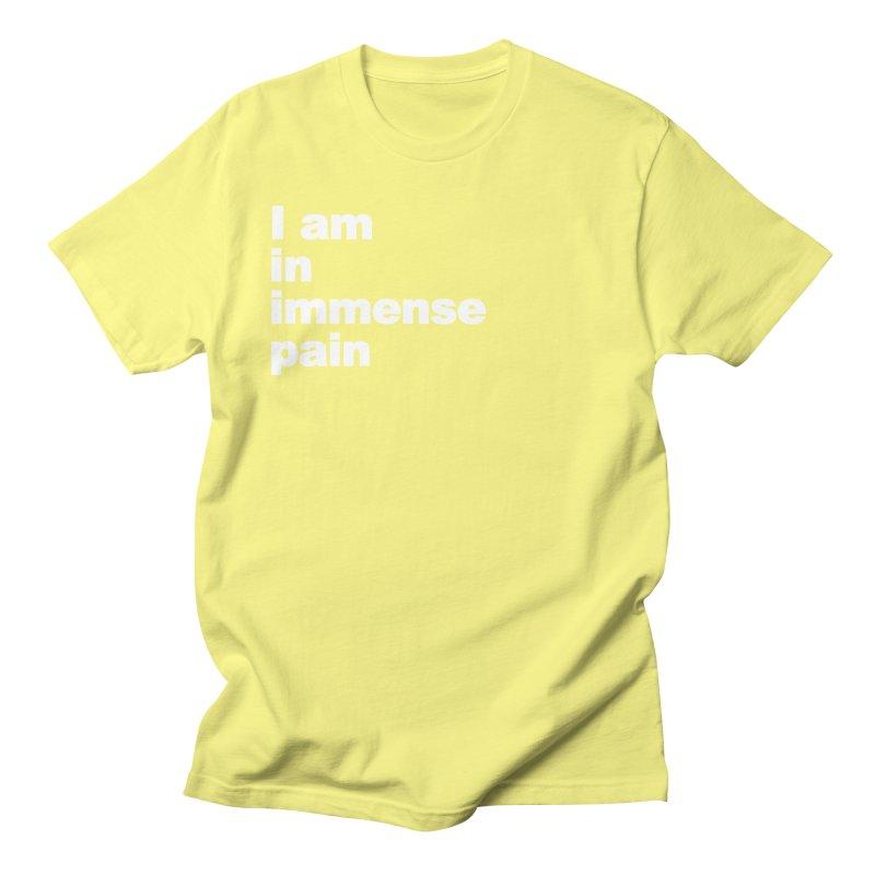 Immense Pain Men's T-Shirt by mattingebretson's Artist Shop