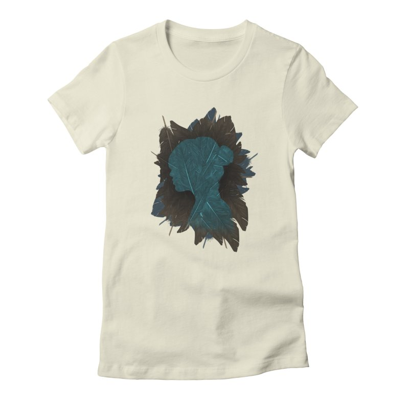 Ornithology Women's Fitted T-Shirt by Matt Leyen / NiNTH WHEEL