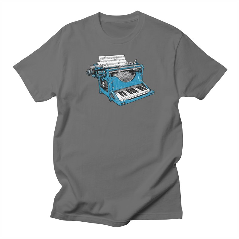 The Composition Men's T-shirt by Matt Leyen / NiNTH WHEEL