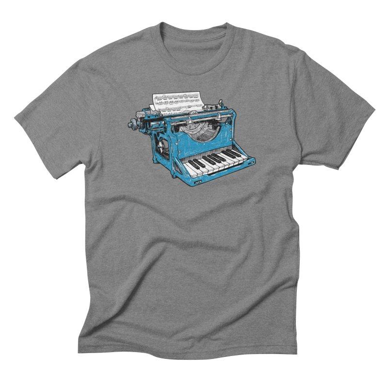 The Composition Men's Triblend T-shirt by Matt Leyen / NiNTH WHEEL
