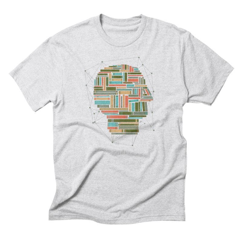 Socially Networked Men's Triblend T-Shirt by Matt Leyen / NiNTH WHEEL