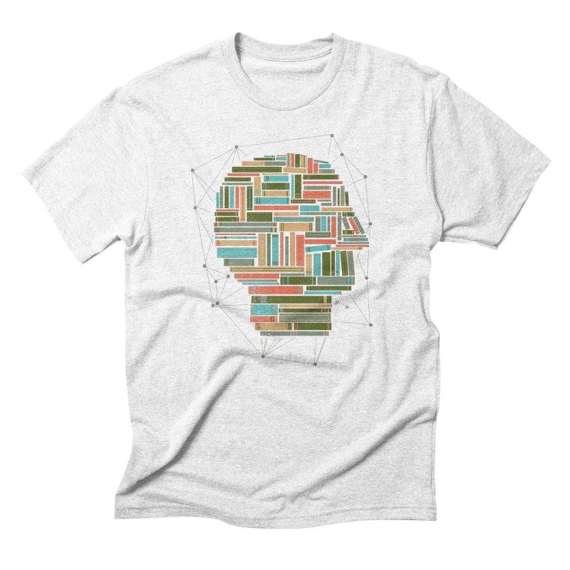 Socially Networked Men's Triblend T-shirt by Matt Leyen / NiNTH WHEEL