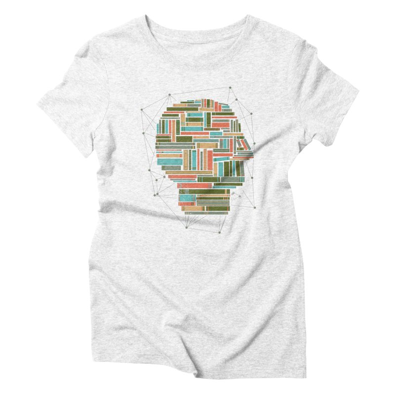 Socially Networked Women's Triblend T-shirt by Matt Leyen / NiNTH WHEEL