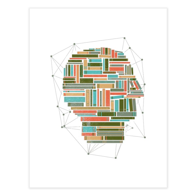 Socially Networked Home Fine Art Print by Matt Leyen / NiNTH WHEEL