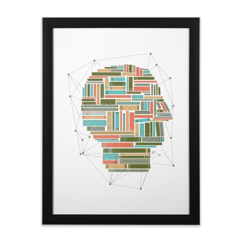 Socially Networked Home Framed Fine Art Print by Matt Leyen / NiNTH WHEEL