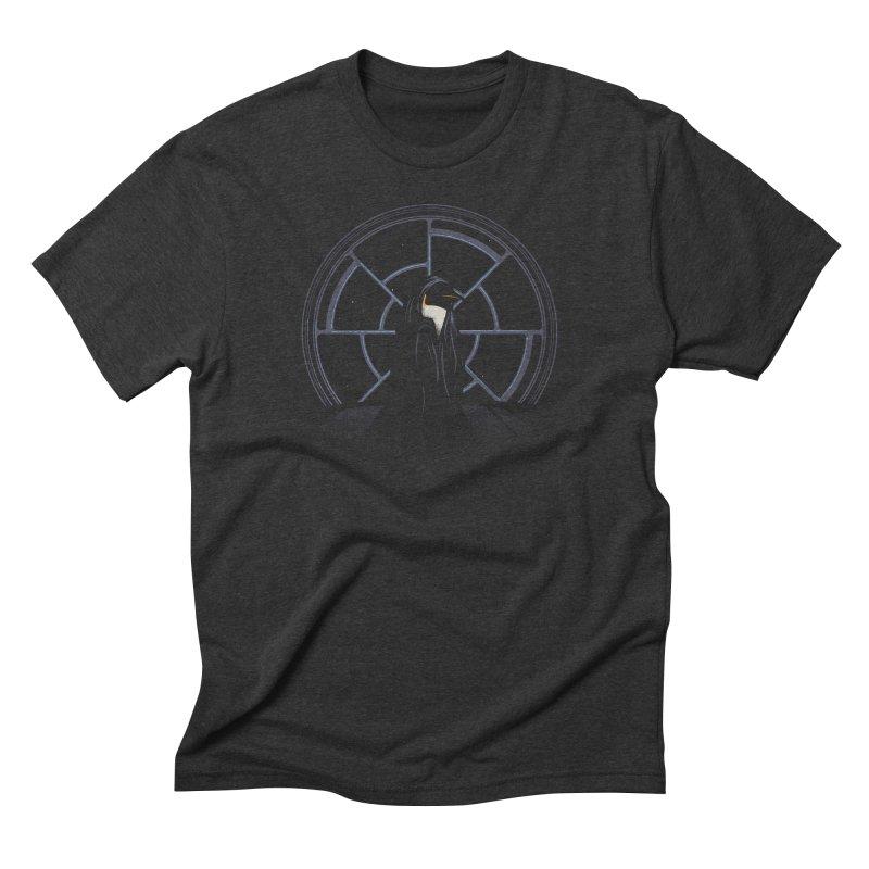 The Emperor Men's Triblend T-shirt by Matt Leyen / NiNTH WHEEL