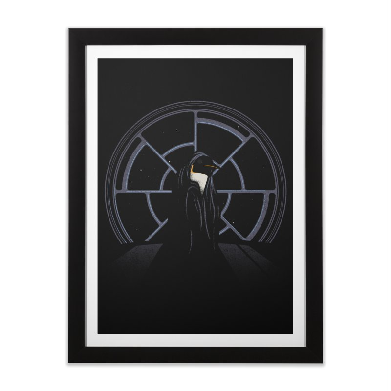 The Emperor Home Framed Fine Art Print by Matt Leyen / NiNTH WHEEL