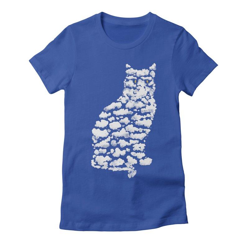 Thundercat Women's Fitted T-Shirt by Matt Leyen / NiNTH WHEEL