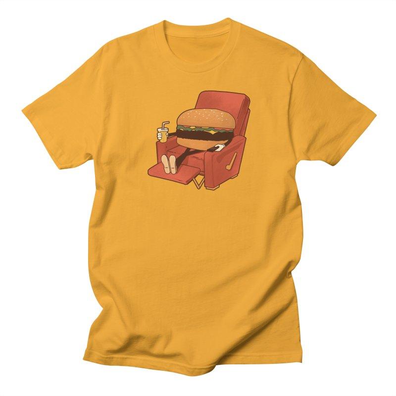 Lunch Break Men's T-Shirt by Matt Leyen / NiNTH WHEEL