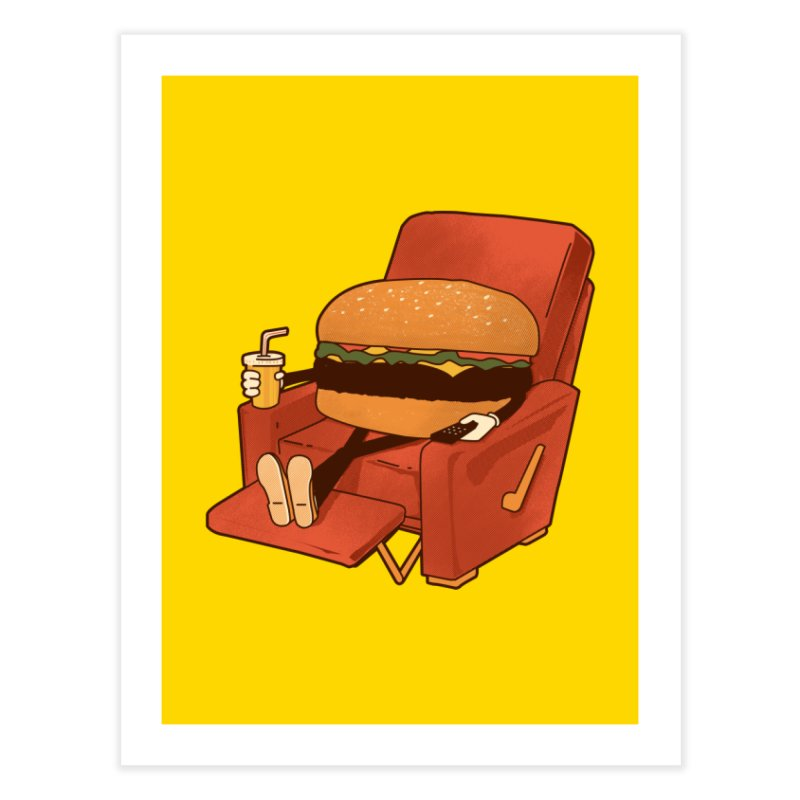 Lunch Break Home Fine Art Print by Matt Leyen / NiNTH WHEEL
