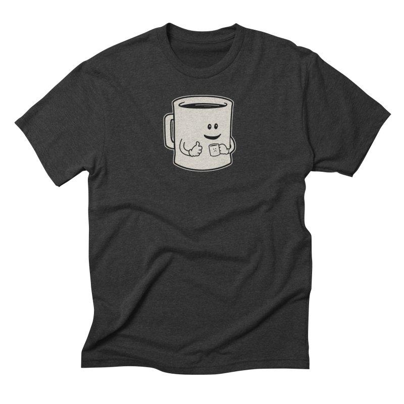 Mugged Men's Triblend T-shirt by Matt Leyen / NiNTH WHEEL