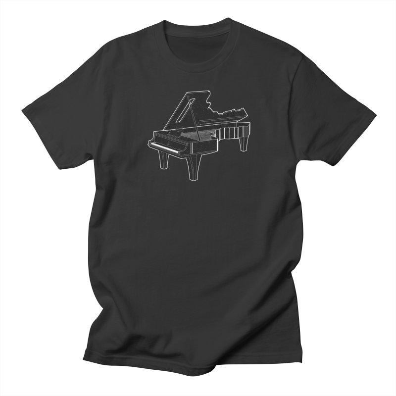 Music is The Key Men's T-Shirt by Matt Leyen / NiNTH WHEEL