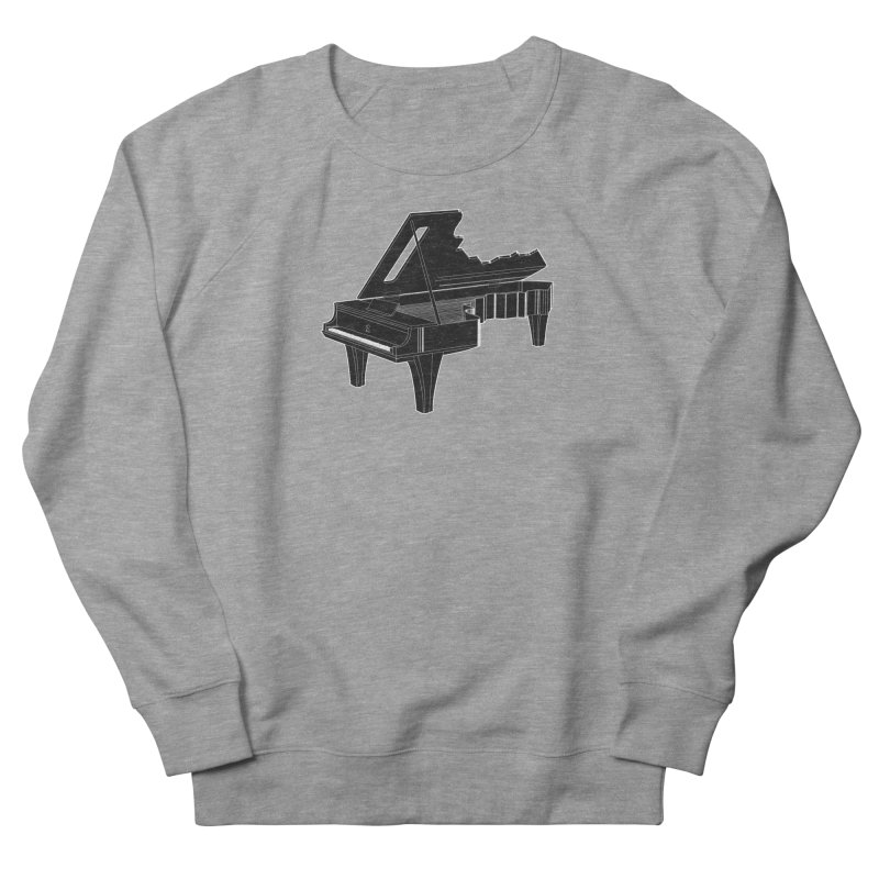Music is The Key Women's Sweatshirt by Matt Leyen / NiNTH WHEEL