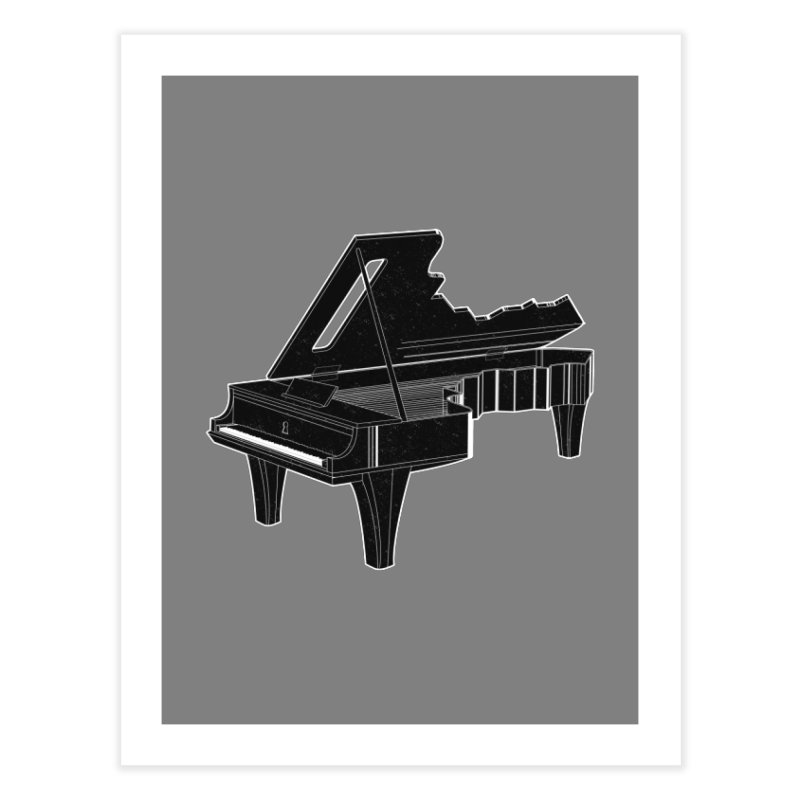 Music is The Key Home Fine Art Print by Matt Leyen / NiNTH WHEEL