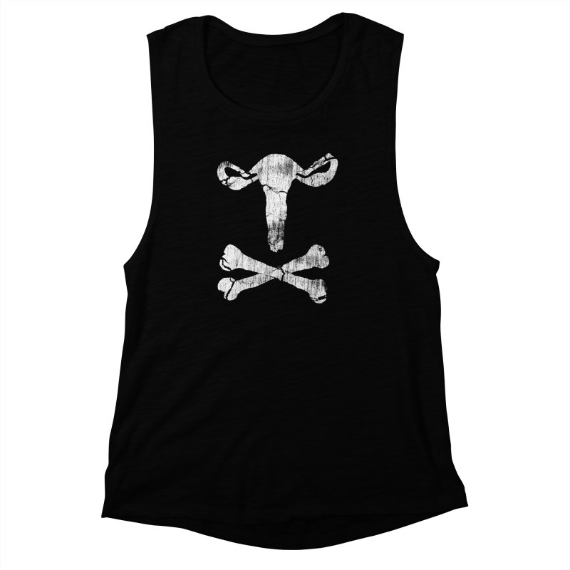 skullvaries Women's Muscle Tank by Maat Haas: The Shop