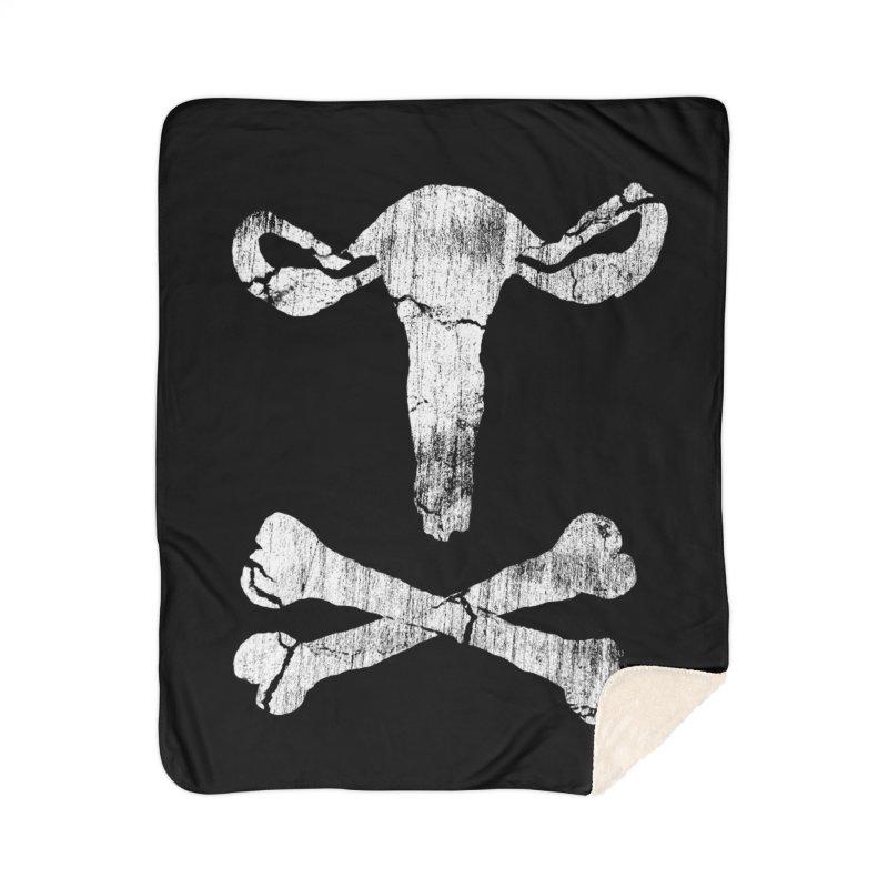 skullvaries Home Sherpa Blanket Blanket by Maat Haas: The Shop