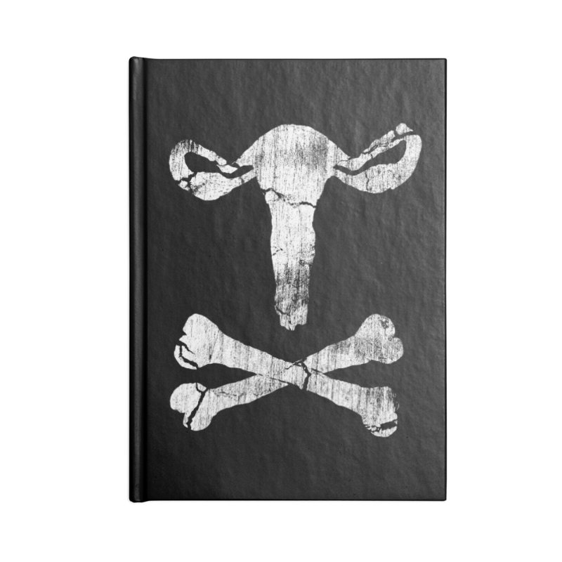 skullvaries Accessories Blank Journal Notebook by Maat Haas: The Shop