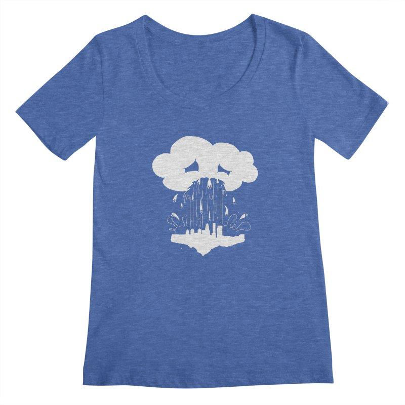 Cloudsick Women's Scoopneck by Maat Haas: The Shop