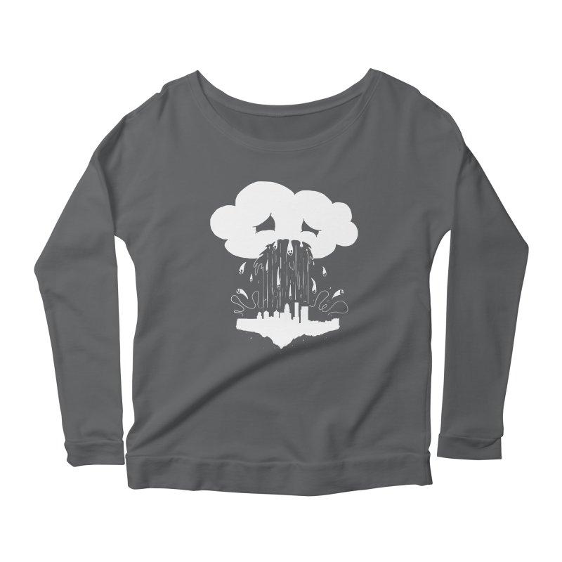 Cloudsick Women's Longsleeve Scoopneck  by Maat Haas: The Shop