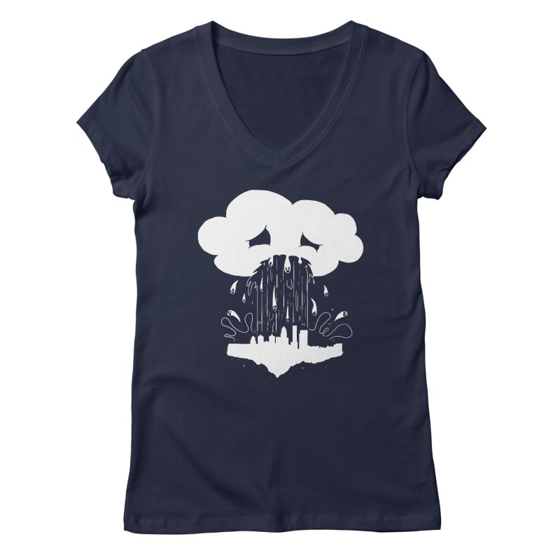 Cloudsick Women's Regular V-Neck by Maat Haas: The Shop