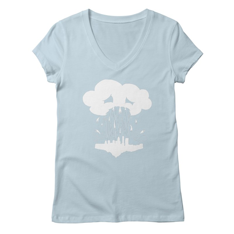 Cloudsick Women's V-Neck by Maat Haas: The Shop