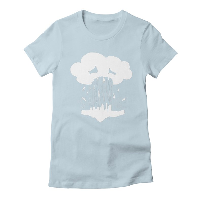 Cloudsick Women's Fitted T-Shirt by Maat Haas: The Shop