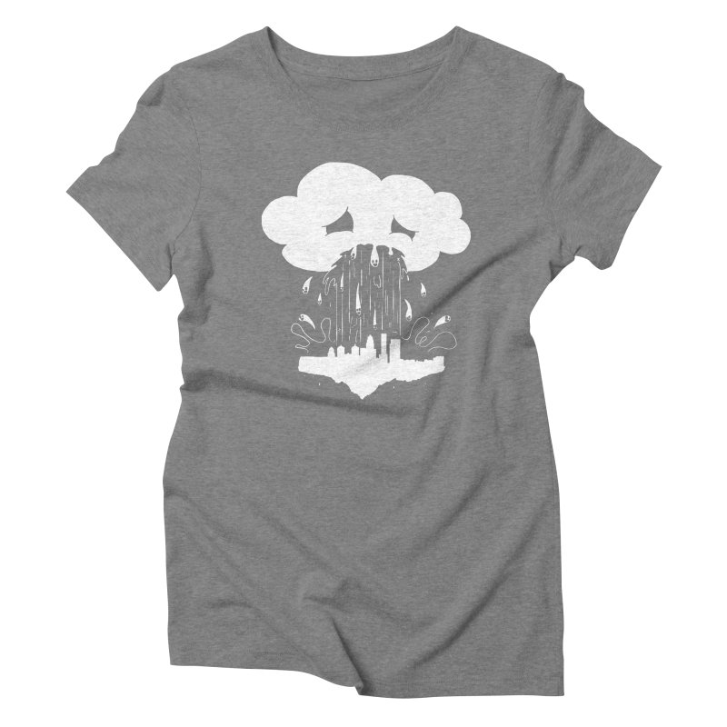 Cloudsick Women's Triblend T-shirt by Maat Haas: The Shop