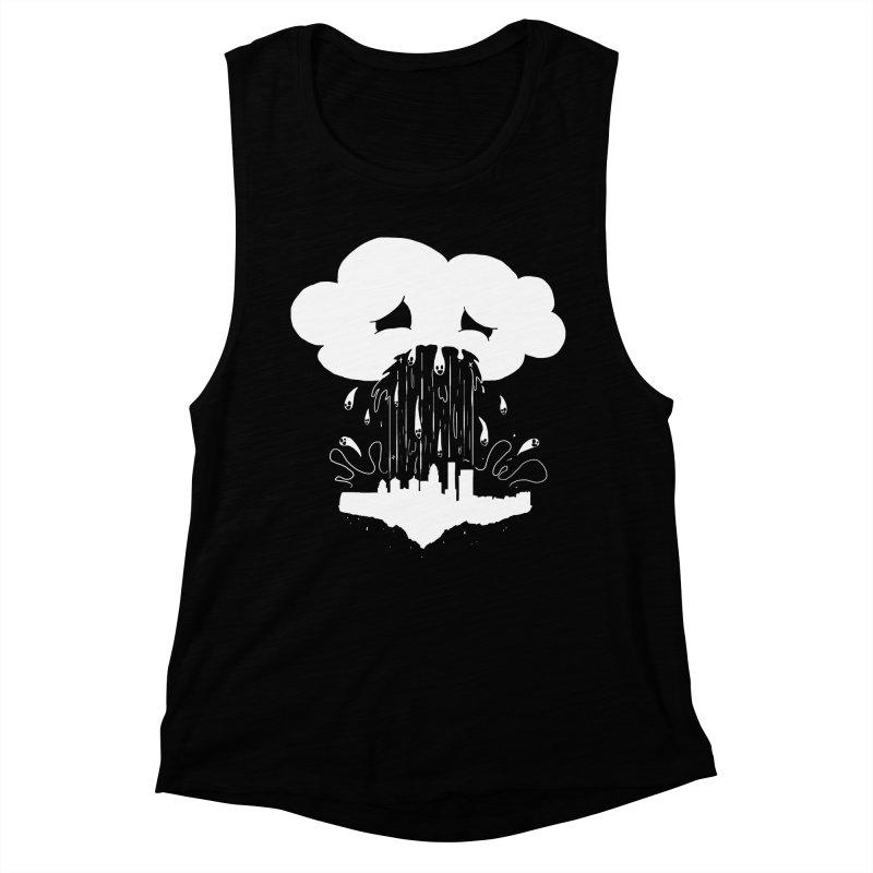 Cloudsick Women's Muscle Tank by Maat Haas: The Shop