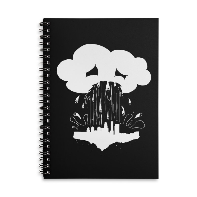 Cloudsick Accessories Lined Spiral Notebook by Maat Haas: The Shop
