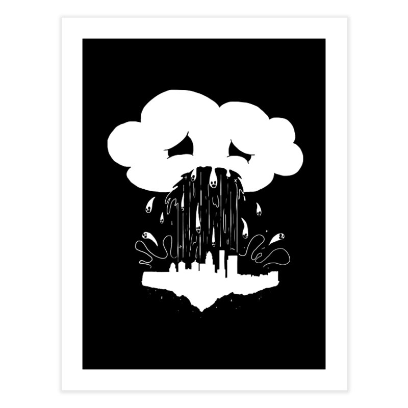 Cloudsick Home Fine Art Print by Maat Haas: The Shop