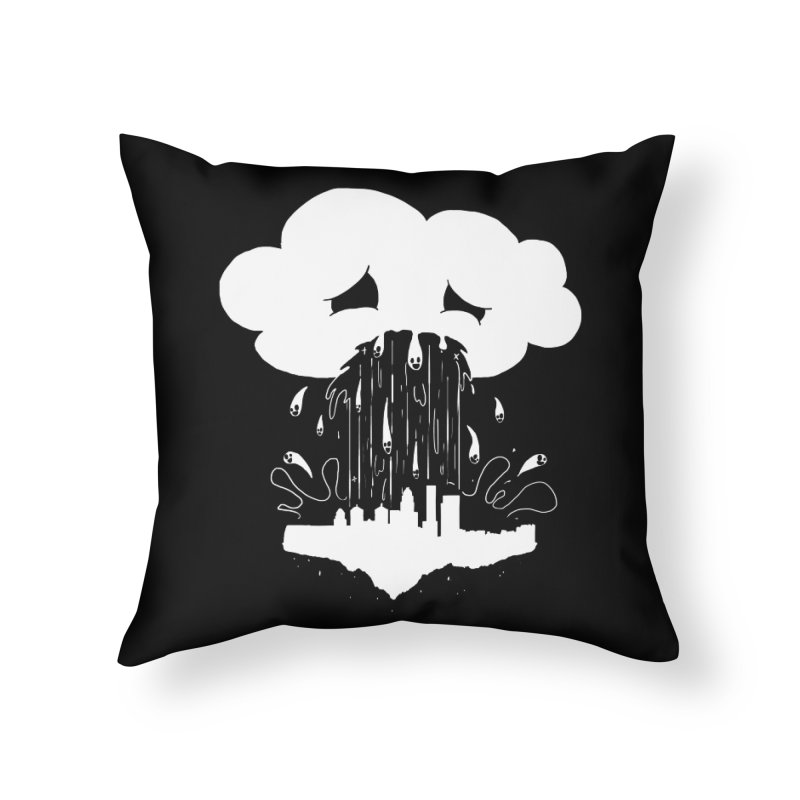 Cloudsick Home Throw Pillow by Maat Haas: The Shop
