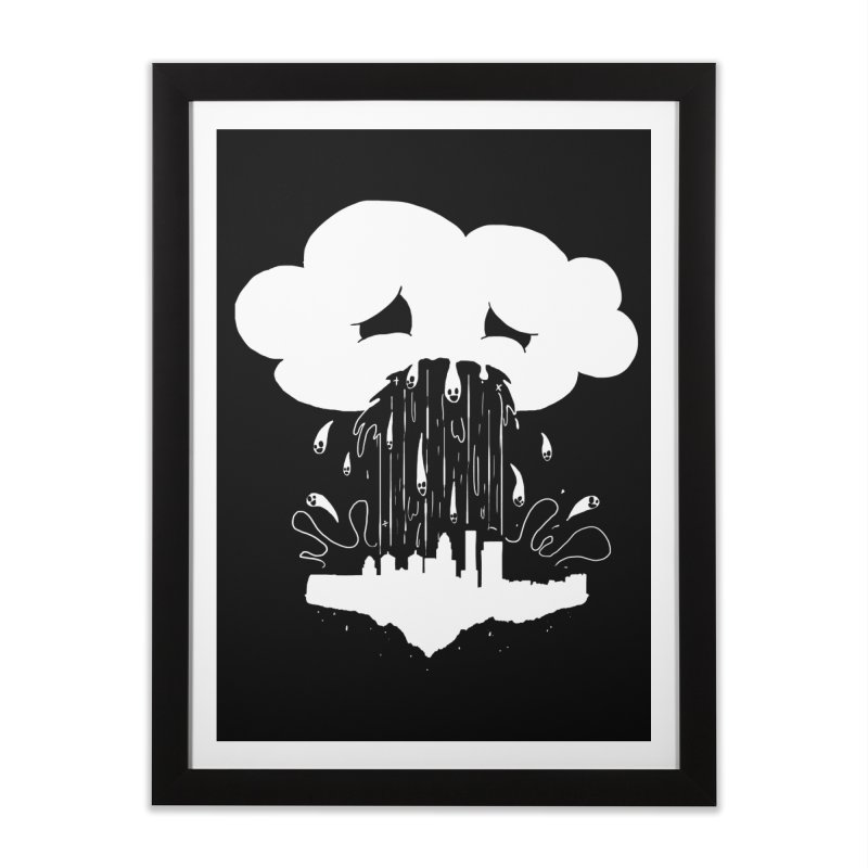 Cloudsick Home Framed Fine Art Print by Maat Haas: The Shop