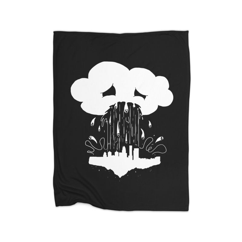 Cloudsick Home Fleece Blanket Blanket by Maat Haas: The Shop